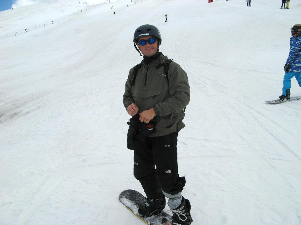 snowboarding Jens